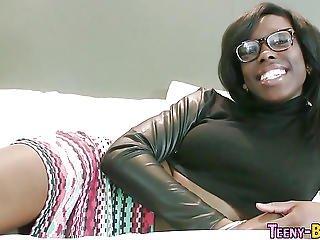 Slammed Ebony Ho Facial