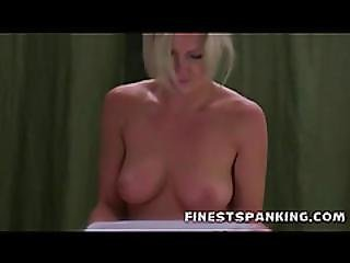 Tangled Up Blonde Brutal Spanked