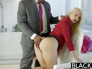 Hot Slut Lets Boss Buttfuck Her In His Office For A Promotion!