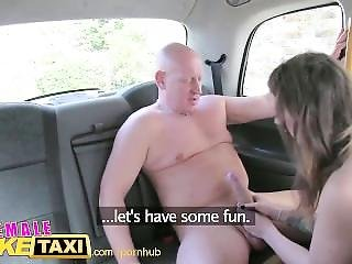 Femalefaketaxi Cabbie Loves Paramedics Big Cock