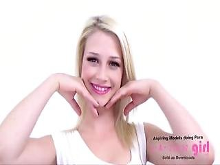 Teen Supermodel Cums At Casting Photo Shoot