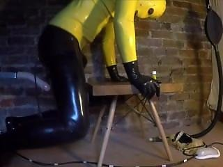 Machine Fucked In Rubber