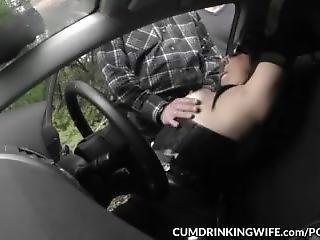 Dogging Car Sex Gangbangs With Slutwife Marion