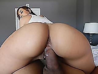 Pretty Hottie Chick Demi Lopez Sucking Meaty Cock