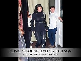 Kylie Jenner In Ny 2018 (slideshow)(