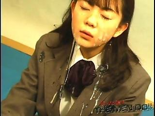 Bukkake Highschool Lesson 11 4 4 Japanese Uncensored Blowjob