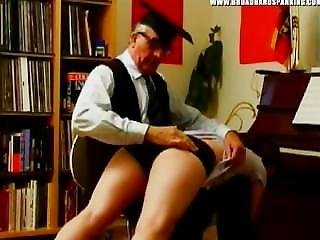 Broadband Spanking, Strictly English - Caning Of Flt Officer (mf, Ff)