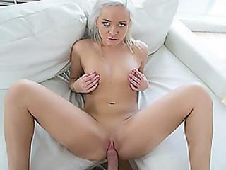 Sexy Cleo Vixen Having A Large Hard Dick In Her Pussy