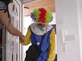 British Glam Aged Cocksucking Favourable Clown