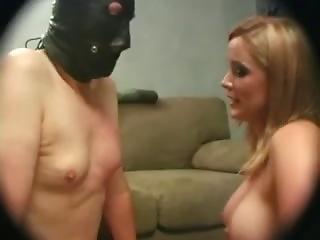 Mistress Humiliates Chastity Slave