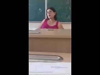 Hot Blonde Teacher Getting Banged
