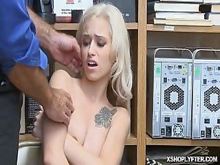 Blonde Teen Got Cock On Her Tight Pussy