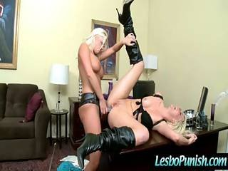 Hot Lesbian Punished And Fucked Video-07