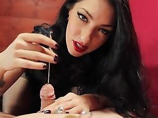 Dom mistress sounding cock 5