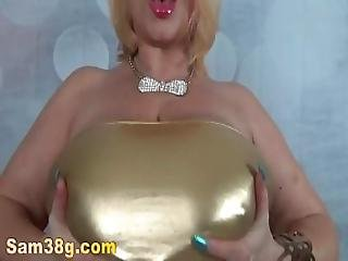Gold.titty.tease-mp4
