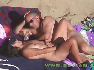 konst, strand, offentligt, sex