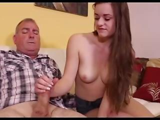 babe, cumshot, pene, handjob, masturbación, madura, Adolescente, joven