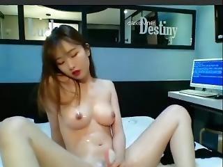 asiatisch, japanisch, koreanisch, onanieren, solo, Jugendliche, spielzeug