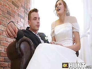 We Talked A Bit, And I Offered The Husband To Buy His Wedding Night And Fuck His Wife Despite His Reluctance, The Money Ruled In My Favor!
