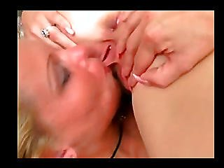 Fingers And Dildo In Pussy And They Kissing Each Other