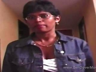 Anal For Nerdy Indian Amateur In Glasses