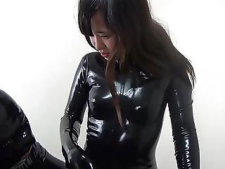 Japanese Latex Catsuit 97