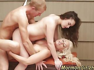 Spunked Mormon Slut Bang