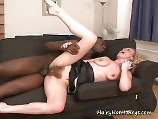 Hairy Pussy Huge Black Dick