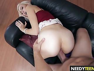 Sexy Blonde Teen Alexa Grace