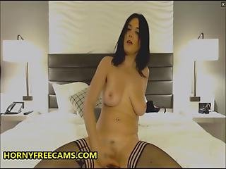 Slut Talks Dirty While Fingering Cunt And Sucking Nipples