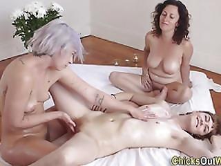 Real Massage Lesbians Rub