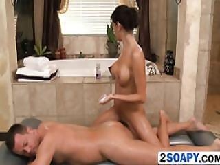 babe, cuarto de baño, blowjob, morena, pene, masaje, oral, ducha, chupando