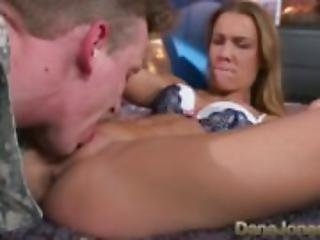 Dane Jones Hard sucking and fucking for filthy two timing Army wife