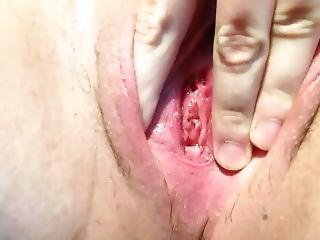 Wet Contracting Pussy And Big Clit