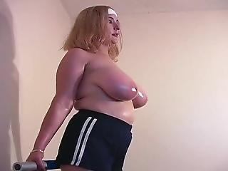 Breast Bouncing - Monica