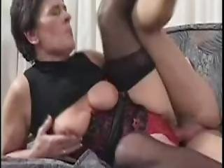 Granny Lovin That Young Cock