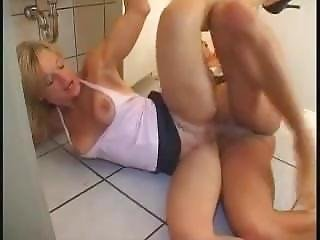 Mature Anal Fucking In Public Toilet
