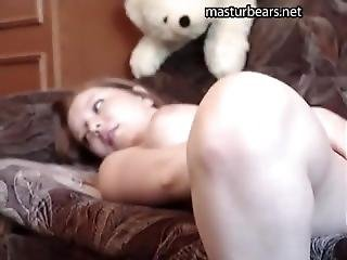 amatorski, kociak, domowe, domowej roboty, masturbacja, seks na kanapie, Nastolatki