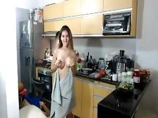 Camgirl Teases Plumber Anyone Know Her Name
