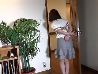 Japanese Girl Hogtied