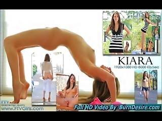 Kiara Amateur Teen Naked Babe