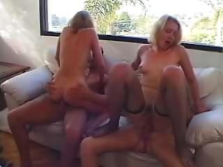 Olivia Saint & Estelle Laurence - Spin The Bottle Orgy