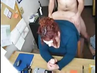 Hot Fuck 57 Redhead Bbw Secretary In The Office