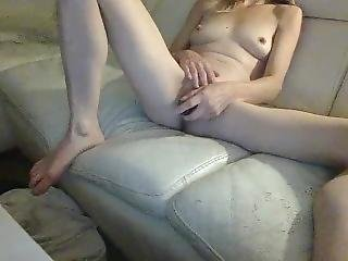 Wife Playing By Her Self