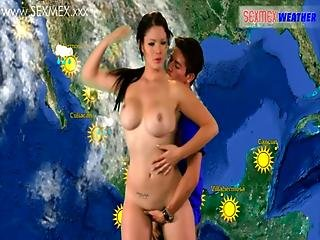 Jessica Sexmex The Curvy Whether Girl Predicts It S Going To Be Very Hot.