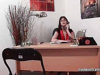 Sexy Doctor With Big Tits Fucked Hard On Her Desk