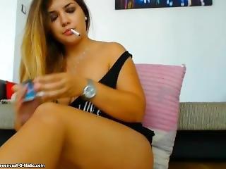 Gorgeous Curvy Lissa Smokes