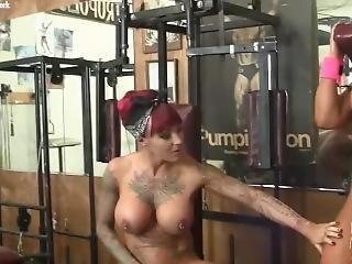 fetish, gym, lebb