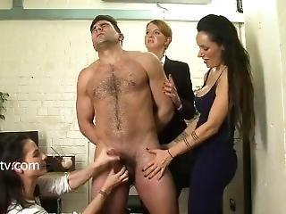 britisch, brünette, cfnm, ladung, fetisch, wichsen, harter porno