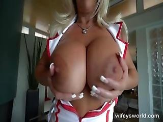 Busty Nurse Wants To Swallow Your Jizz